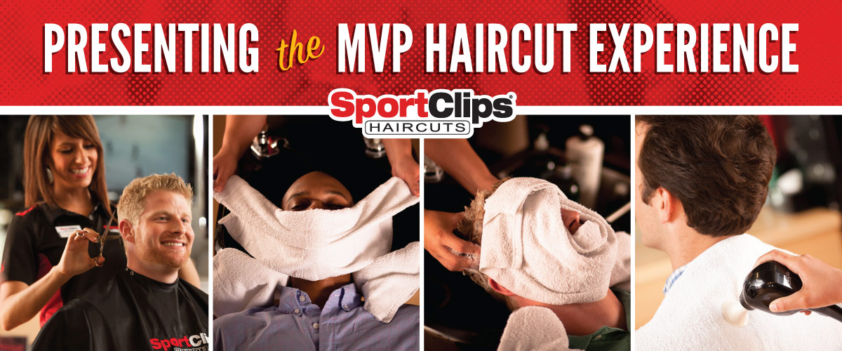 The Sport Clips Haircuts of McKinney Eagle Point MVP Haircut Experience