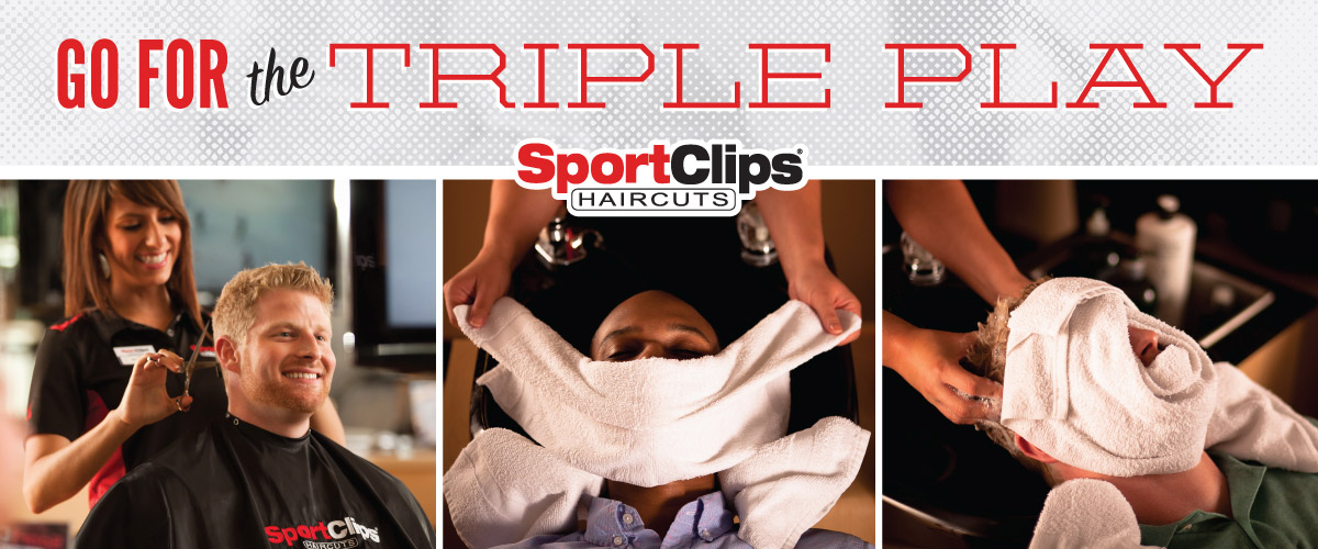 The Sport Clips Haircuts of McKinney Eagle Point Triple Play
