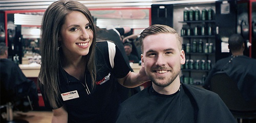 Sport Clips Haircuts of McKinney Eagle Point​ stylist hair cut